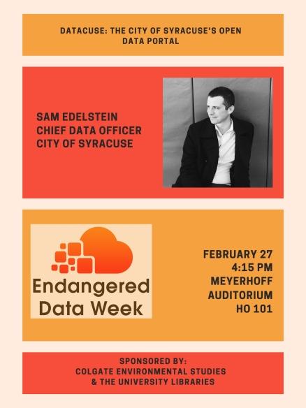 Endangered Data Week 2019